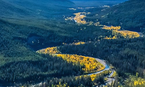 The Upper Middle Fork of the Flathead in the fall