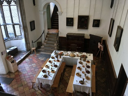 Strangers Hall's 'Great Hall' dates from medieval times