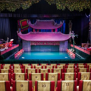 Thang Long water puppet theater main stage