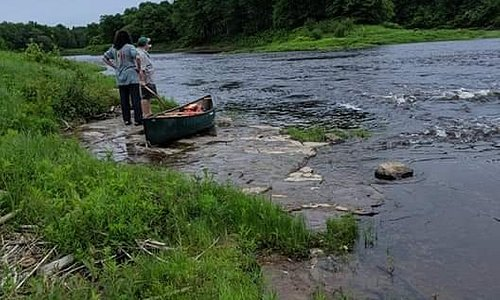 Grasse River float