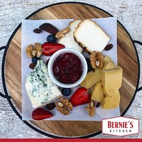 Cheese Board with house made jam.