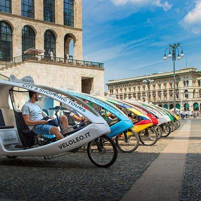 Ready to go for an amazing rickshaw tour