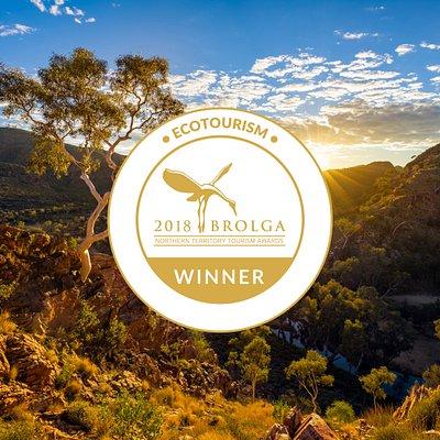 Ecotourism Brolga Award winning Trek Larapinta