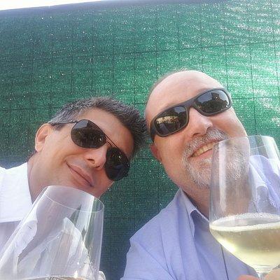 Io e Carlo...e bevemo !!!