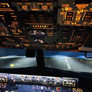 Nice landing at Barcelona Steve - IT Guru by day and awesome Jetsim Pilot by night