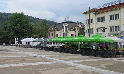 Blagoevgrad: Goce Delchev Platz