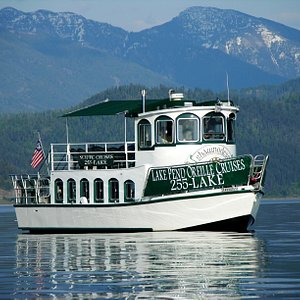 The Shawnodese  does daily lake cruises throughout the summer as well as cruises in the spring and fall.  Lake Pend Oreille is Idaho's largest lake.  Learn the history of the area as well as eagle watching, dinner cruises, sunset cruises, private charters, and more.