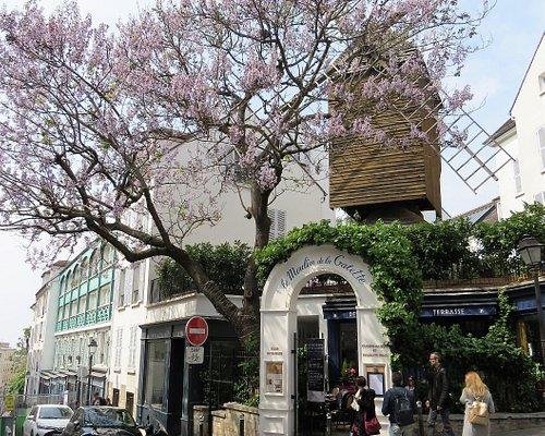 Le Moulin de la Galette sur la Butte Montmartre