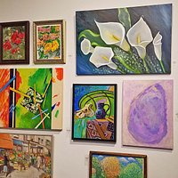 Local Artists theme challenge entries - pairs- at the Attleboro Arts Museum