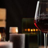Een heerlijk glas rode wijn.