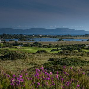 Bearna Golf Clubhouse and Galway Bay