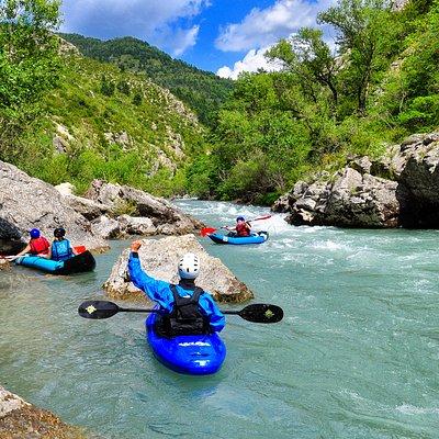 Canoë/Kayak sur le Verdon