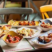 street food selection