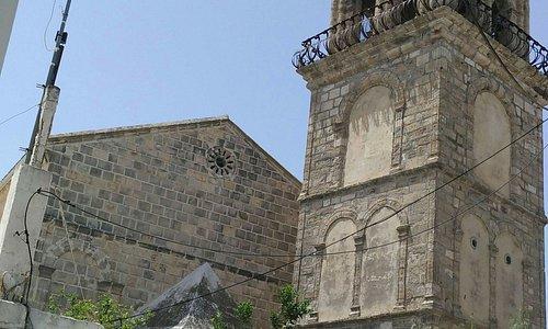 куполообразная колокольня храма