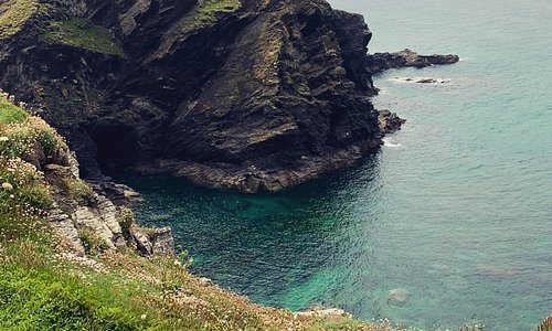 Where Poldark is filmed.  Very nice walk with windswept cliffs and stunning views of the Atlantic.