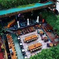Aigli Geni Hamam Garden of Flavors & Spirits  Open: Monday to Friday 19:00-01:00 (Restaurant) 19:00-03:00 (Bar-Cocktails)  Rsv ☎ 2313059024 / ✉ 6981844902