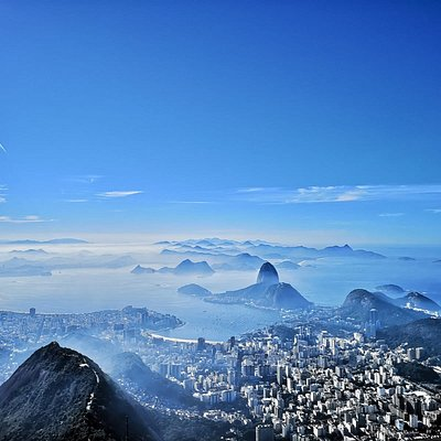 Sugar Loaf and the city