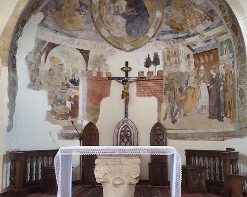 Abside della Chiesa della Madonna di Loreto