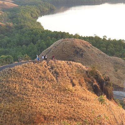 Breathtaking view of Labuan Bajo hills