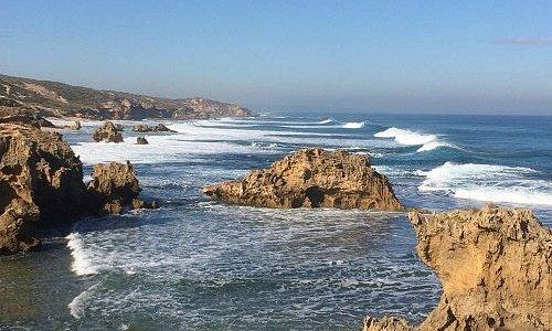 Surf Along A Wild Coastline