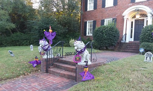 And then, there is Halloween!  Love our purple and the witches!