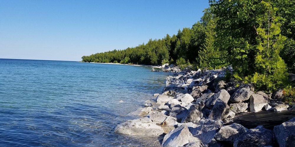 Kayaking the Shoreline July 3 2019
