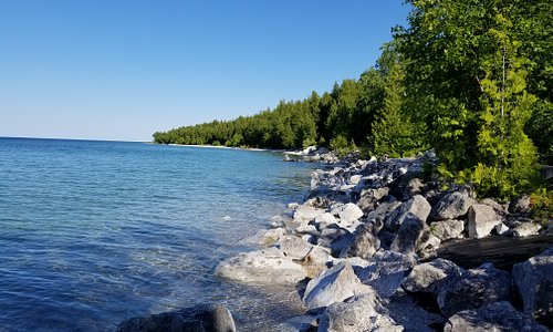 Kayaking the Shoreline July 3 2019