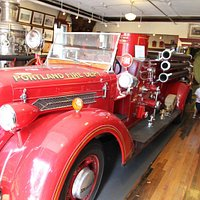 Portland Fire Museum Engine 12; saw service on Peaks Island in the 1950s