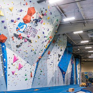 Lead wall and front top rope walls