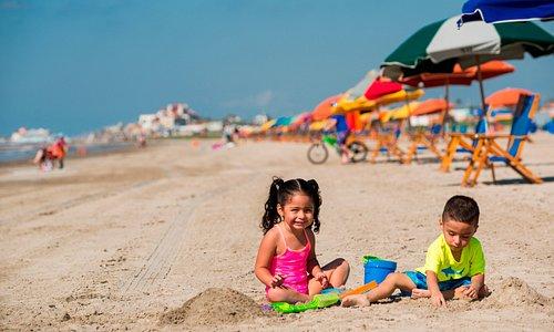 Family friendly beach park