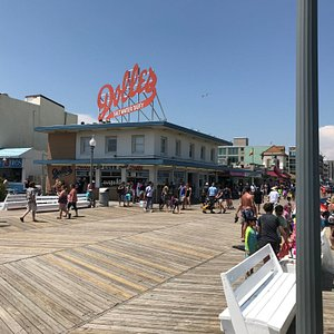 view at the boardwalk