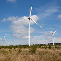 Whitelee is the UK's largest onshore windfarm, located on Eaglesham Moor just 20 minutes from central Glasgow. Its 215 turbines generate up to 539 megawatts of electricity, enough to power just under 300,000 homes*.