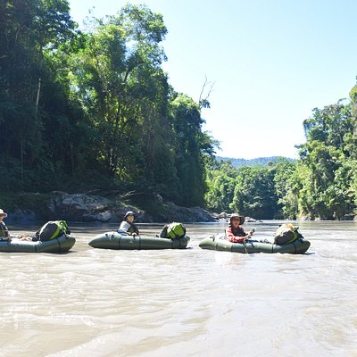Amazonian packrafting on the Alto Madre de Dios