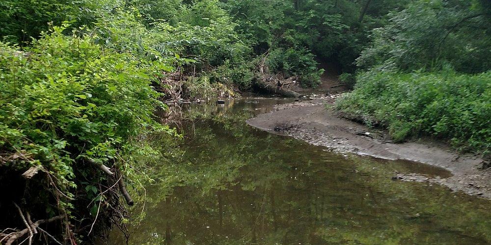 Small Creek you cross