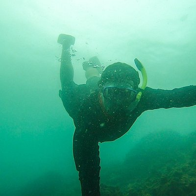 Snorkeling on the caribbean side of Panama