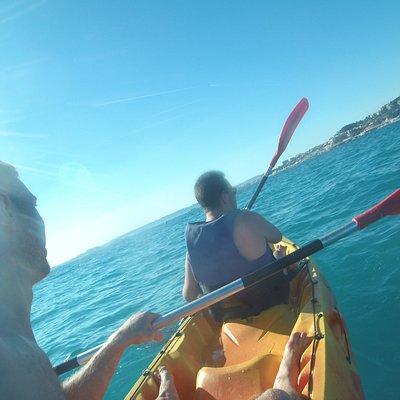 Kayak à 2 de la Pointe Rouge à l'Huveaune vers le David