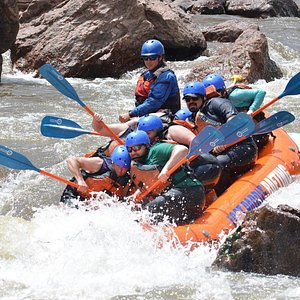 """Dropping """"El Diente"""" in Sunshine Falls of the Royal Gorge!"""