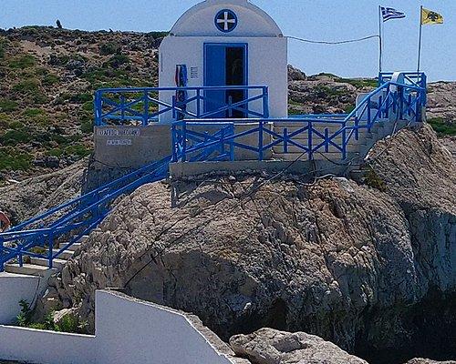 ładny mały kościółek na  półwyspie