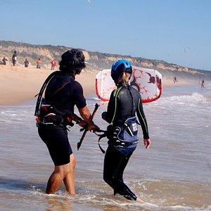 professional kite lessons