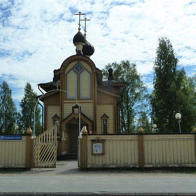 Tornio Orthodox Church i Tornio