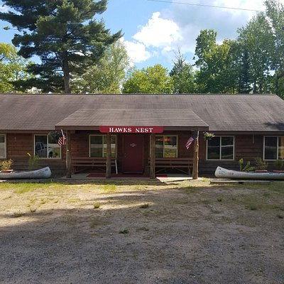 Located on Highway 70 five miles west of downtown Eagle River