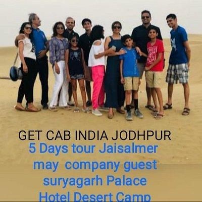 Get Cab India 5 Days Tour Jaisalmer