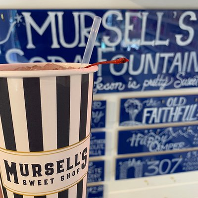 Mursell's just added a soda fountain !