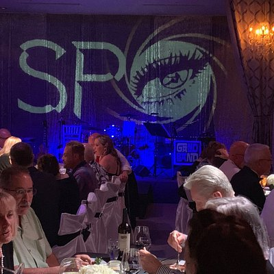 Our dinner event, SPY.