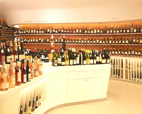 Our stylish store includes fine and rare wines as well as approachable, everyday bottles.