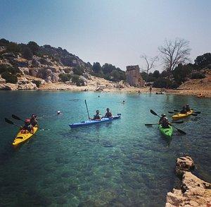 Tersane Bay and the Sunken City Kayaking Tour