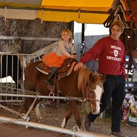 They have pony rides!!! they cost a little extra but it was my daughters favorite