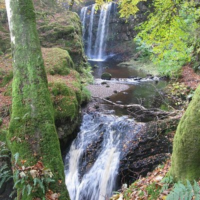 Dalcairney falls
