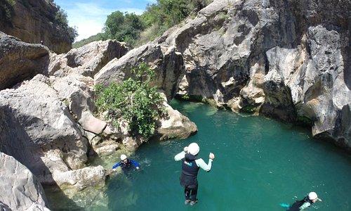 Unos de los saltos....increíble!!!