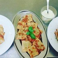 #pastafresca Ravioli ricotta e spinaci